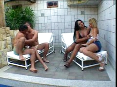 TV outdoor orgy